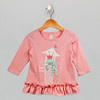 Girls Princess Pink Top