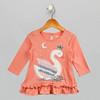 Girls Princess Orange Top